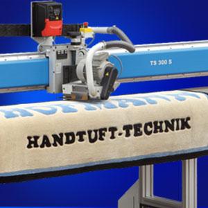 Teppichschermaschine Hofmann Handtuft-Technik masterfinish