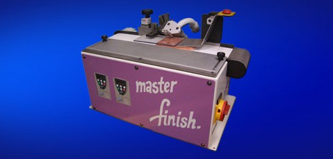 Edge bevelling machine for carpet samples KS 50