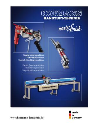 Hofmann Handtuft Prospekt Brochure